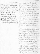 Почерк Жан-Жака Руссо