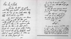Почерк Мэрилин Монро