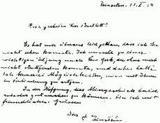 Почерк Альберта Эйнштейна