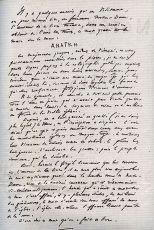 Почерк Виктора Мари Гюго