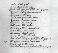 Почерк Чарльза Чаплина