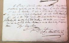 Почерк Наполеона I Бонапарта