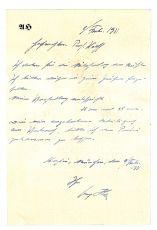Почерк Адольфа Гитлера